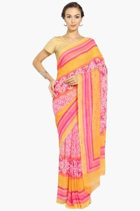 Womens Georgette Saree With Blouse Piece - 202531476