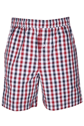 UNDERCOLORS Mens Regular Fit Check Boxer Shorts