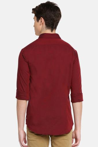 C340 -  Red Casual Shirts - Main