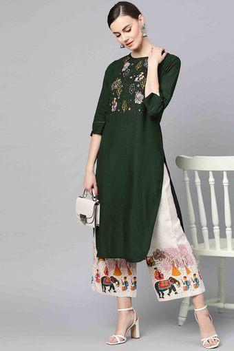 ISHIN -  GreenIndianwear Sets - Main