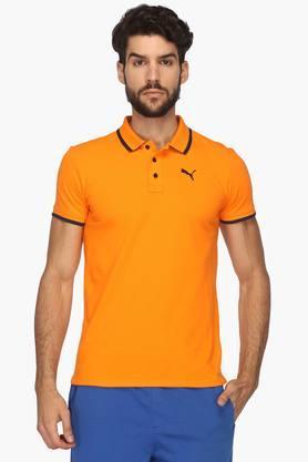 PUMAMens Solid Polo T-Shirt - 202204546