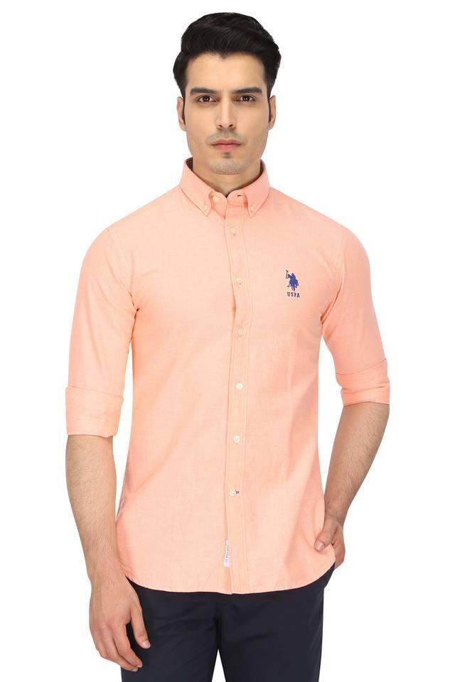 U.S. POLO ASSN. - OrangeCasual Shirts - Main