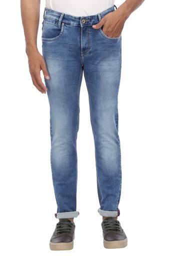 MUFTI -  Blue MelangeJeans - Main