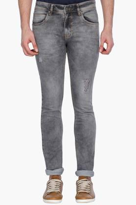 LIFE Mens Distressed Jeans - 201394698