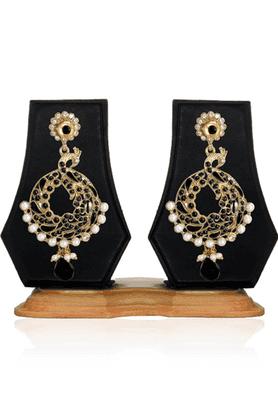 ZAVERI PEARLSTraditionl Jewellery Dangle Earring - ZPFK2455