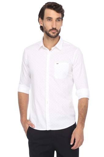 C359 -  White Casual Shirts - Main