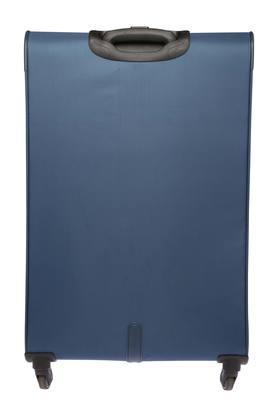 Unisex 1 Compartment Zip Closure Soft Trolley