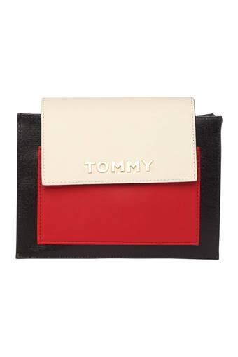 TOMMY HILFIGER -  MultiBlack & White_Handbags & wallets - Main
