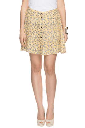 LIFE Women Regular Mini Skirt