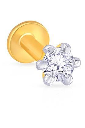 MALABAR GOLD AND DIAMONDSWomens Diamond Nosepin UINSP00097J