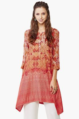 GLOBAL DESI Womens Printed Kurta - 201652486