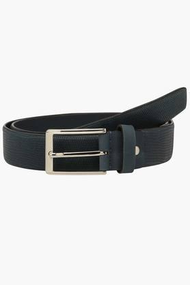VETTORIO FRATINI Mens Leather Buckle Closure Formal Belt - 201179501