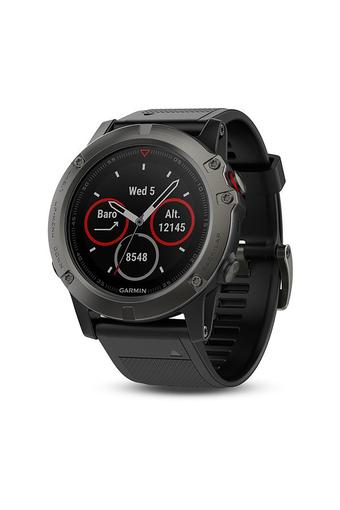 Unisex Fenix 5X Sapphire Silicone Smart Watch