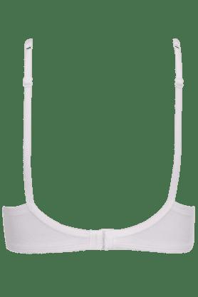 Women Cotton Padded Wired Bra