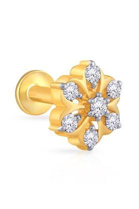 MALABAR GOLD AND DIAMONDSWomens Mine Diamond Nosepin NP51205I