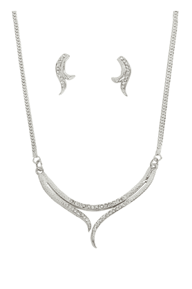 TOUCHSTONE Necklace Set -Mangalsutra Style