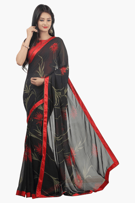 JASHN Womens Printed Saree - 201502539