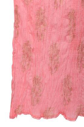 Womens Round Neck Zari Embroidered Palazzo Suit