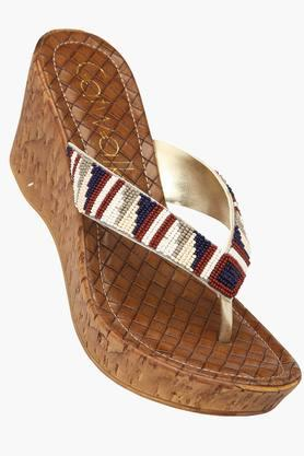 CATWALKWomens Casual Slipon Wedge Sandal - 201561798