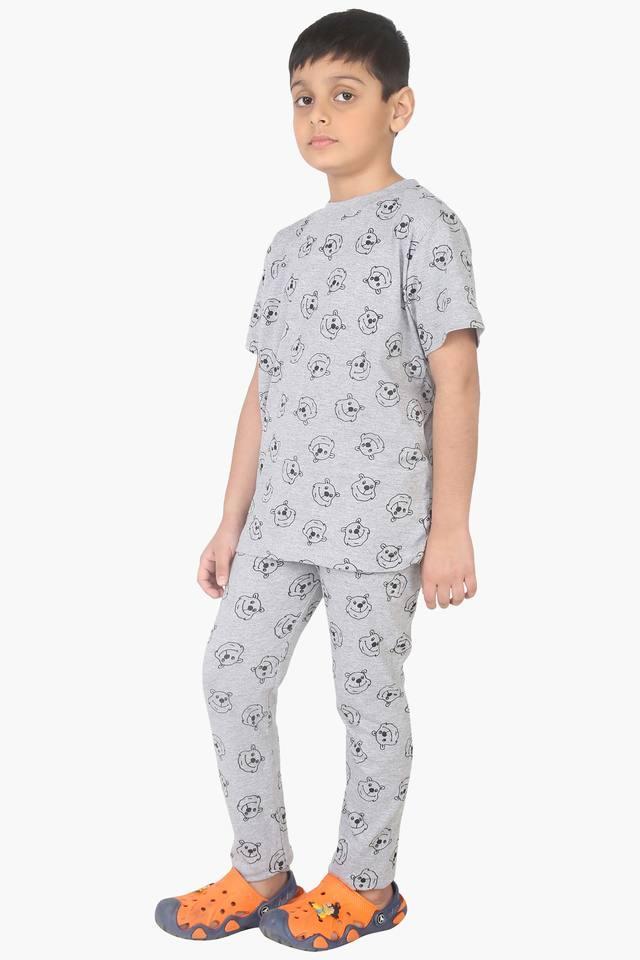 Character Printed Boy's PJ Set