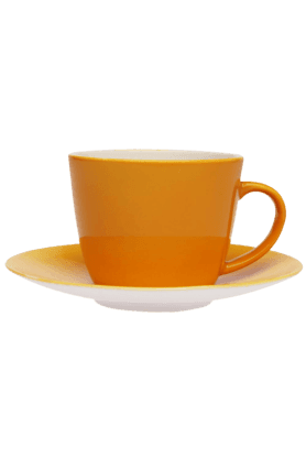IVY Solid - Cups & Saucers (Set Of 2)