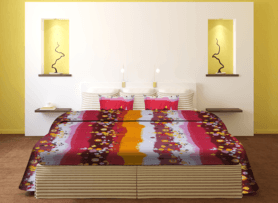 IVYDouble Bed Sheet - Stripe