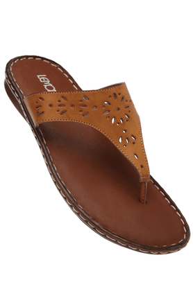 LEMON & PEPPER Womens Comfort Flat Sandal