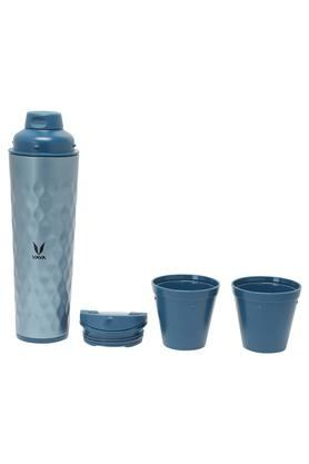 Cylindrical Solid Tumbler Sipper with Gulper - 600 ml