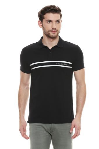 CALVIN KLEIN JEANS -  BlackT-shirts - Main