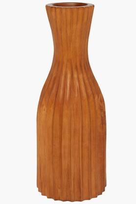 BACK TO EARTHDesigner Striped Vase - 201257772