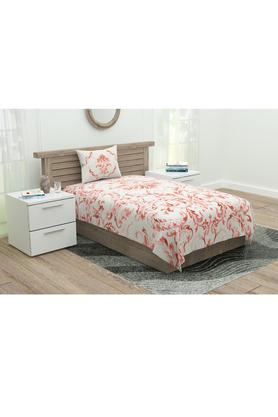 Printed Single Bed Sheet with 1 Pillow Cover