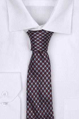Mens Check Tie