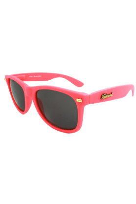 KNOCKAROUND Fort Knocks Unisex Sunglasses Pink/Smoke-FKGL1006 (Use Code FB20 To Get 20% Off On Purchase Of Rs.1800)