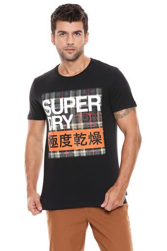 SUPERDRY -  BlackT-Shirts & Polos - Main