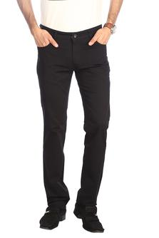 Stop-Mens Cotton Tapered Fit Colored Trouser