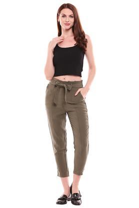 KRAUS - OliveTrousers & Pants - 3