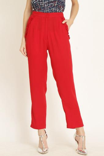 MARIE CLAIRE -  RedTrousers & Pants - Main