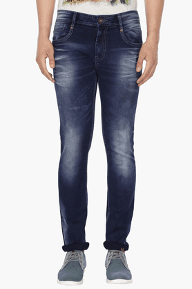 LIFE Mens Washed Jeans - 201472073