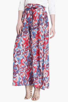 VERO MODA Womens Printed Long Skirt
