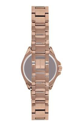 Womens Mother of Pearl Dial Metallic Analogue Watch - GD-2041-44