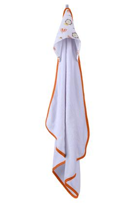 Kids Printed Hooded Towel Wrap