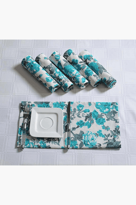 SWAYAM Printed Dinner Napkins Set