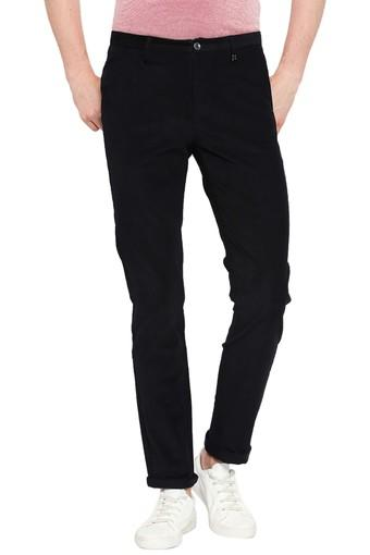 REX STRAUT JEANS -  Black Cargos & Trousers - Main