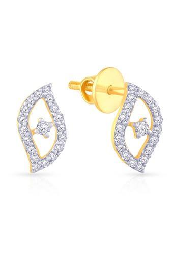 Buy Malabar Gold And Diamonds Womens Mine Diamond Earring Jsdece194 Shoppers Stop