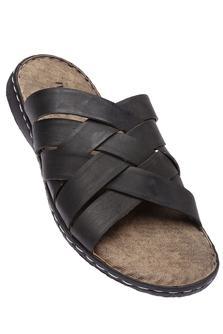 IWALKMens Leather Casual Sandal