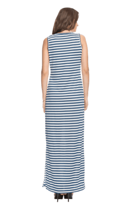 Women Striped Maxi Dress