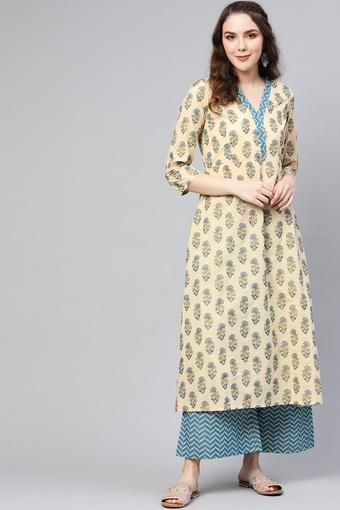 VARANGA -  Beige Ethnic Sets - Main