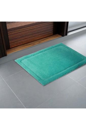 SPACES Swift Dry Hawain Blue Small Bath Mat