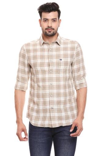 ARROW SPORT -  Beige Casual Shirts - Main
