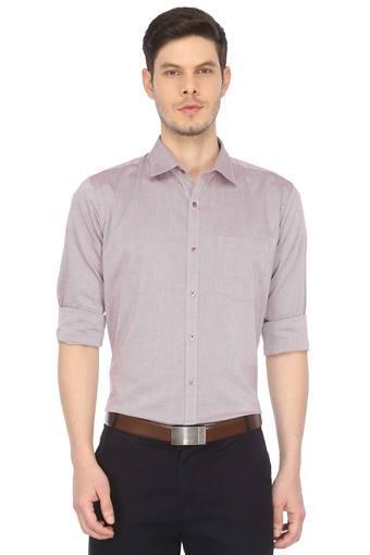 PARK AVENUE -  MaroonFormal Shirts - Main